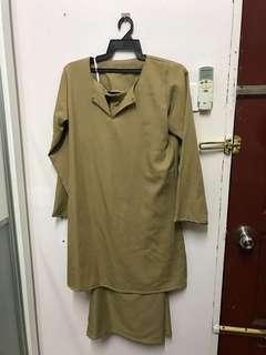 Baju Kurung Nude/Beige