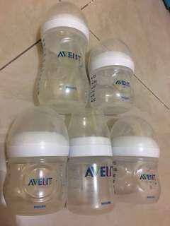 Avent Feeding/Milk Bottles (FREE Diaper Bag OR FREE Playmat)