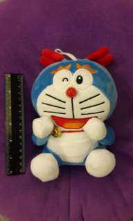 Dragon Doraemon Plushie with tinkling bell