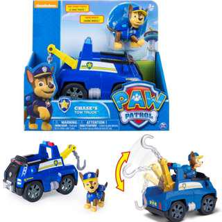 BNIB: Paw Patrol - Chase's Tow Truck - Figure and Vehicle