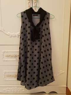 Polka Dots Long Top