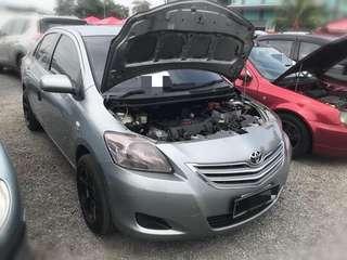 Toyota vios 1.5 Espec Tahun 2010 Bulanan 6Xx