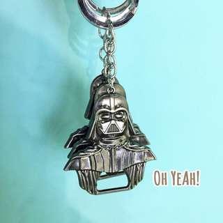 :::OH YEAH!:::『現貨』Star Wars星際大戰黑武士開瓶器鑰匙圈 金屬開瓶器交換禮物生日禮物