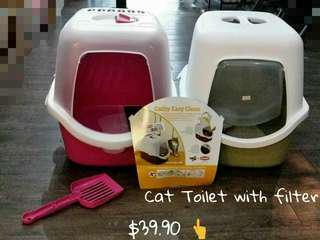 Cathy Easy Clean Cat Litter Box
