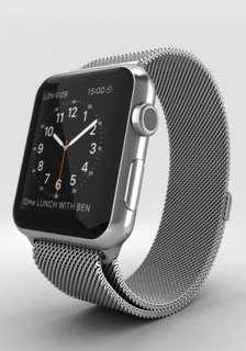Apple Watch millanese  band  全新米蘭式錶帶for  apple  watch