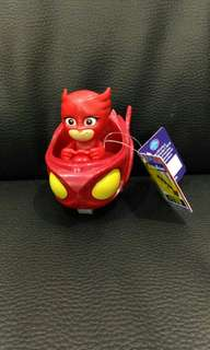 Pj masks owlette toy