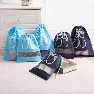 Travel Shoe Storage Bag with Transparent Window B14902