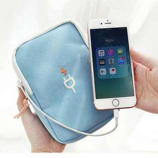 Travel Portable Carrying Pouch Cable Organizer Accessories Storage Bag B14903