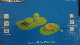 Silicon baby placemat