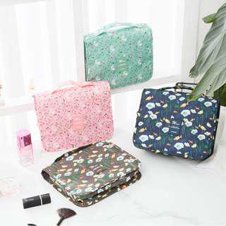 Travel Toiletry Cosmetic Bag Portable Makeup Pouch B14904