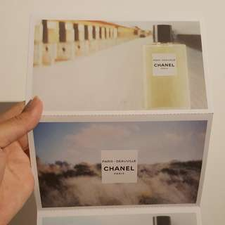Chanel 3 in 1 Postcards