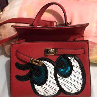 Wink red small bag