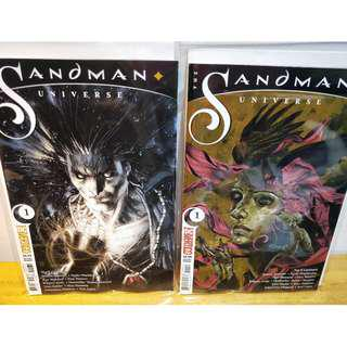 THE SANDMAN UNIVERSE #1 5 Cover Variant Set - Neil Gaiman