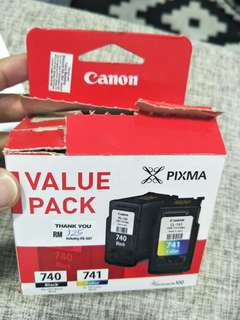 Canon Fine Value Pack Ink Pack (PG-740 + CL741)