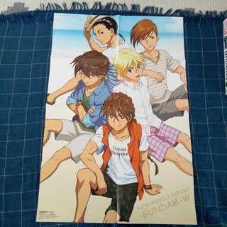 Poster New Mobile Report Gundam