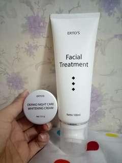 NEGO ERTOS facial treatment + night crram