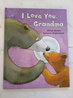 New I Love My Grandma Book