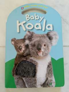 Preloved Priddy Books Baby Koala Touch n Feel Australian Animals