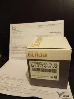 Mazda6 diesel engine oil filter