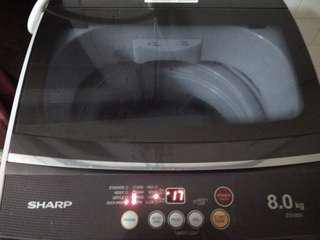 8kg Sharp Automatic Washing Machine