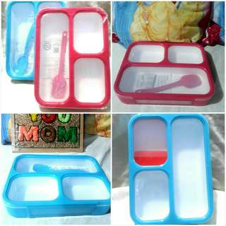 🍱Bento 3 Compartment Lunch Box