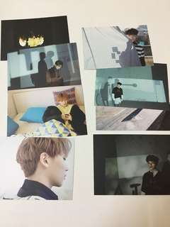 [WTS] Jeonghan & Woozi Director's Cut Postcards