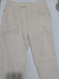 UNTITLED白色闊腳褲