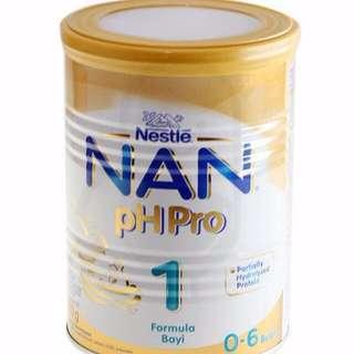 Susu formula Nestle NAN Ph Pro 1