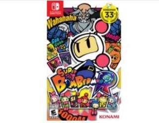 徵收 二手 Nintendo Super Bomberman R