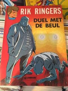 荷蘭1978年古董漫畫 Rik Ringers
