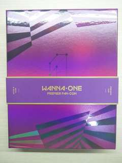 (wts)  wanna one premier fancon dvd unsealed