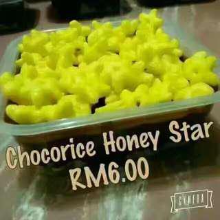 Chocorice honey star rm6
