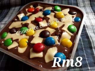 Chocorice cheese mnm rm8