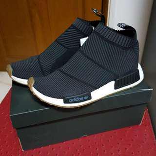 Adidas NMD City Sock 1 CS1 Primeknit Gum Black PK Black