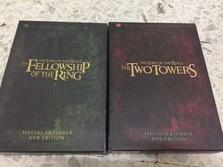 The Lord of The Rings Special Extended DVD Edition