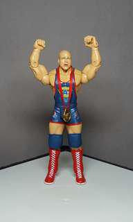 Kurt Angle WWE Jakks Pacific Ruthless Aggression wrestling action figure Not Mattel