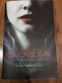Remember Me Trilogy (Christopher Pike)