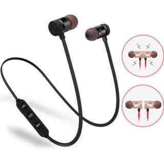 Magnetic Bluetooth headphones
