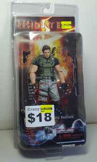 (RESERVED) Chris Redfield Resident Evil Game action figure Bootleg version of NECA