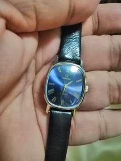 Lady Omega vintage winding watch