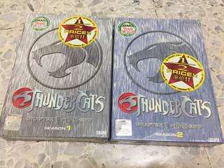 Thundercats DVD Set - Season 1 & 2