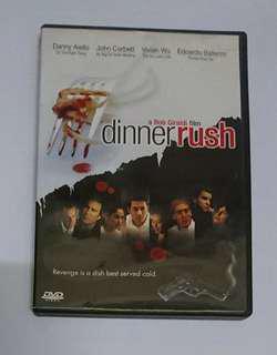 Dinner Rush 五星級殺人夜 DVD Original Uncut English Version with Chinese Subtitle