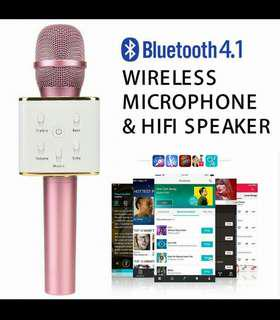 🎤🎤🎤Tuxun Q7 Portable Bluetooth Karaoke Microphone