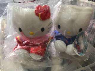 Hello Kitty & Dear Daniel 公仔 麥當勞相識篇 韓國禮服 1999年