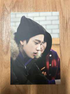 GOT7 PARK JINYOUNG WORK EAT HOLIDAY IN JEJU POSTCARD