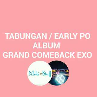 PO ALBUM EXO 2018