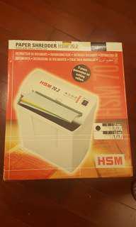 HSM Paper Shredder 小型家居碎紙機