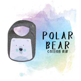 Polar Bear (Cotton Bib)