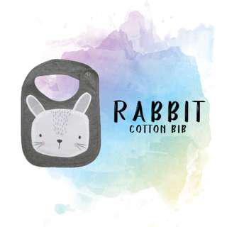 Rabbit (Cotton Bib)