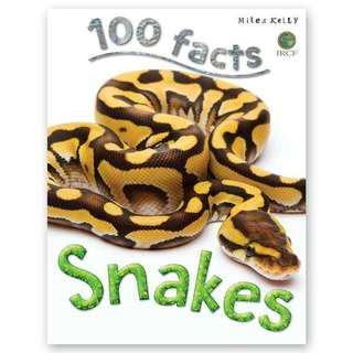 (BN) Snakes 100 Facts